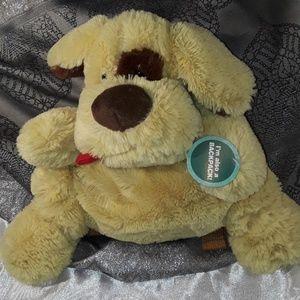 Fluffy dog backpack
